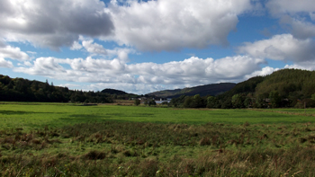 Countryside View Near Glenmore Country House, Argyll, Scotland