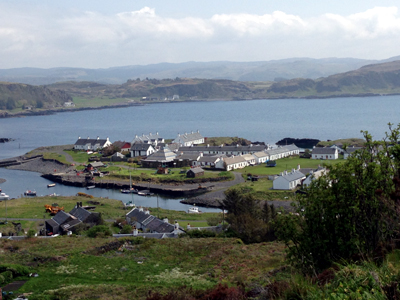 Easdale Island - View Out To Sea