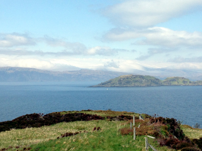 Easdale Island, near Glenmore Country House - The View Out To Sea