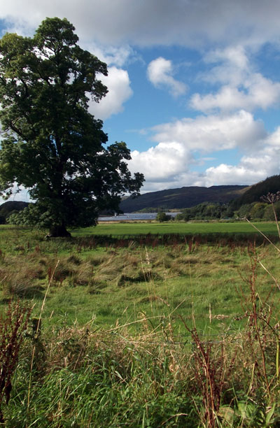 Glenmore Country House, Argyll, Scotland - Loch and Mountain View Nearby